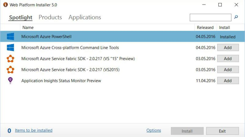 Azure PowerTip 1: Installing Azure Powershell using the Web